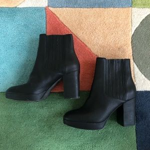 Eileen Fisher black boots 8.5